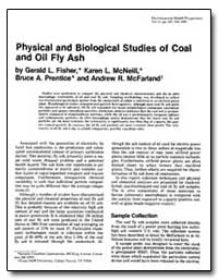 Physical and Biological Studies of Coal ... by Fisher, Gerald L.