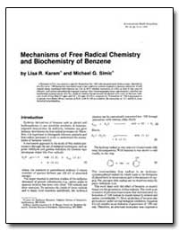 Mechanisms of Free Radical Chemistry and... by Karam, Lisa R.