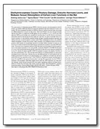 Diethylnitrosamine Causes Pituitary Dama... by Liao, Dezhong Joshua