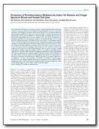 Production of Proinflammatory Mediators ... by Huttunen, Kati