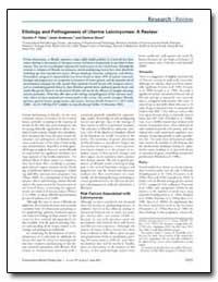Etiology and Pathogenesis of Uterine Lei... by Flake, Gordon P.