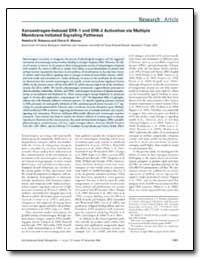 Xenoestrogen-Induced Erk-1 and Erk-2 Act... by Bulayeva, Nataliya N.