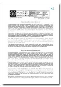 Trade Issues for Forest Products by Food and Agriculture Organization of the United Na...