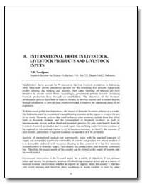 International Trade in Livestock, Livest... by Soedjana, Tjeppy D