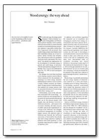 Wood Energy: The Way Ahead by Trossero, M. A.