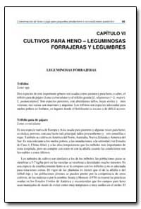 Capitulo Vi Cultivos para Heno Leguminos... by Food and Agriculture Organization of the United Na...