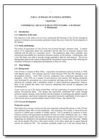 Part I. Summary of National Reports Chap... by Hishamunda, N.