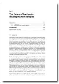 Part 7 the Future of Hatcheries: Develop... by Food and Agriculture Organization of the United Na...