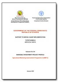 Volume Vi of Vi Bankable Investment Proj... by Food and Agriculture Organization of the United Na...