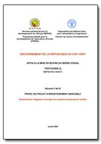 Volume V de Vi Profil de Projet Dinvesti... by Food and Agriculture Organization of the United Na...