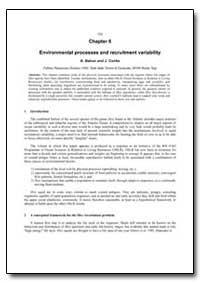 Chapter 6 Environmental Processes and Re... by Bakun, A.