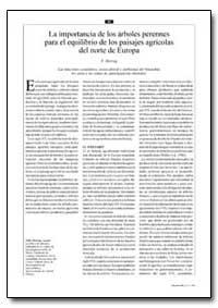 La Importancia de Los Arboles Perennes p... by Herzog, F.