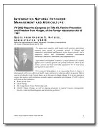 Integrating Natural Resource Management ... by International Development Agency
