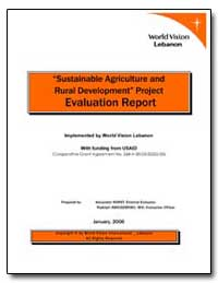 Sustainable Agriculture and Rural Develo... by International Development Agency