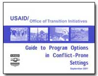 Guide to Program Options in Conflict-Pro... by International Development Agency