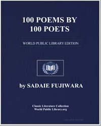100 Poems By 100 Poets by Fujiwara, Sadaie