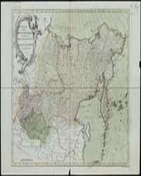 General Map of Irkutsk Province, Self-Co... by Treskot, Johann