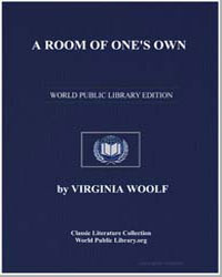 A Room of One's Own by Woolf, Virginia