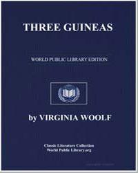 Three Guineas by Woolf, Virginia