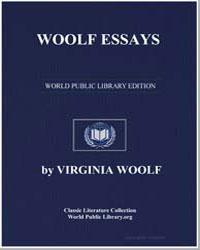 Woolf Essays by Woolf, Virginia