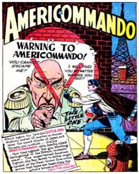 Action Comics : Americommando : Issue 57... Volume Issue 57 and 58 by Baily, Bernard