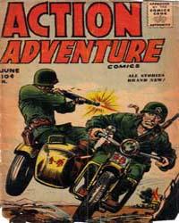 Action Adventure Comics by Key Publications