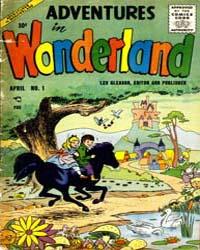 Adventures in Wonderland : Issue 1 Volume Issue 1 by Lev Gleason Publications