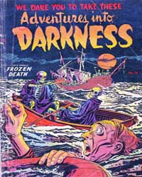 Adventures into Darkness : Issue 14 Volume Issue 14 by Better/Nedor/Standard/Pines Publications