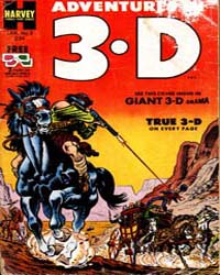 Adventures in 3-D : Issue 2 Volume Issue 2 by Harvey Comics