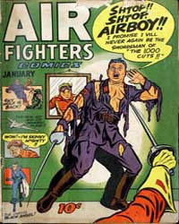 Air Fighters Comics : Vol. 2, Issue 4 Volume Vol. 2, Issue 4 by Hillman Periodicals