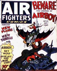 Air Fighters Comics : Vol. 1, Issue 5 Volume Vol. 1, Issue 5 by Hillman Periodicals