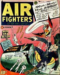 Air Fighters Comics : Vol. 2, Issue 1 Volume Vol. 2, Issue 1 by Hillman Periodicals