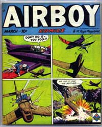 Airboy Comics : Vol. 6, Issue 2 Volume Vol. 6, Issue 2 by Biro, Charles