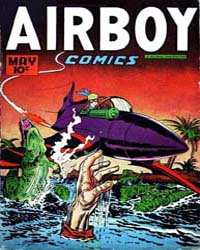 Airboy Comics : Vol. 4, Issue 4 Volume Vol. 4, Issue 4 by Biro, Charles