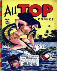 All Top Comics : Issue 9 Volume Issue 9 by Fox Feature Syndicate