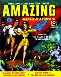 Amazing Adventures : Issue 5 Volume Issue 5 by Ziff-Davis Publications