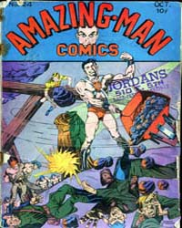 Amazing Man Comics : Issue 24 Volume Issue 24 by Centaur Publishing