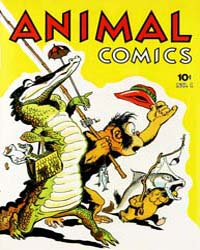 Animal Comics : Issue 1 Volume Issue 1 by Kelly, Walt