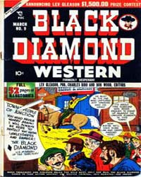 Black Diamond Western : Issue 9 Volume Issue 9 by Lev Gleason Publications
