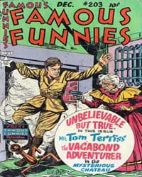 Famous Funnies : Issue 203 Volume Issue 203 by Eastern Color Printing Company