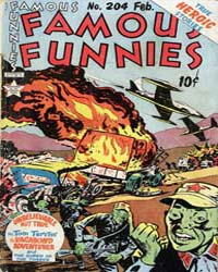 Famous Funnies : Issue 204 Volume Issue 204 by Eastern Color Printing Company