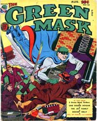 The Green Mask: Volume 1, Issue 10 by Frehm, Walter