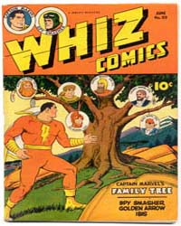 Whiz Comics: Issue 55 Volume Issue 55 by Fawcett Magazine