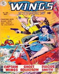 Wings Comics: Issue 105 Volume Issue 105 by Fiction House