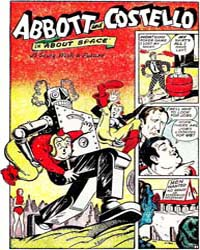 Abbott and Costello Comics : About Space... Volume Issue 21 by St. John Publications