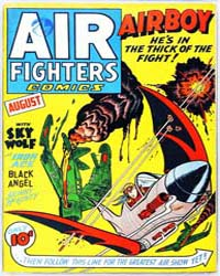 Air Fighters Comics : Vol. 1, Issue 11 Volume Vol. 1, Issue 11 by Hillman Periodicals