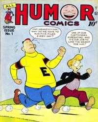 All Humor Comics : Issue 1 Volume Issue 1 by Quality Comics