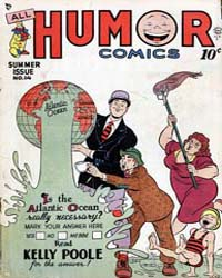 All Humor Comics : Issue 3 Volume Issue 3 by Quality Comics