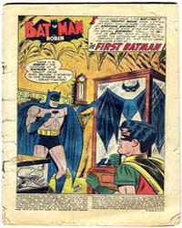 Detective Comics : The First Batman : Is... Volume Issue 235 by Moldoff, Sheldon