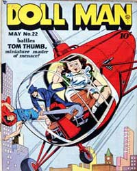 Doll Man Quarterly : Issue 22 Volume Issue 22 by Eisner, Will